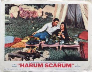 harum scarum elvis presley lobby card 8