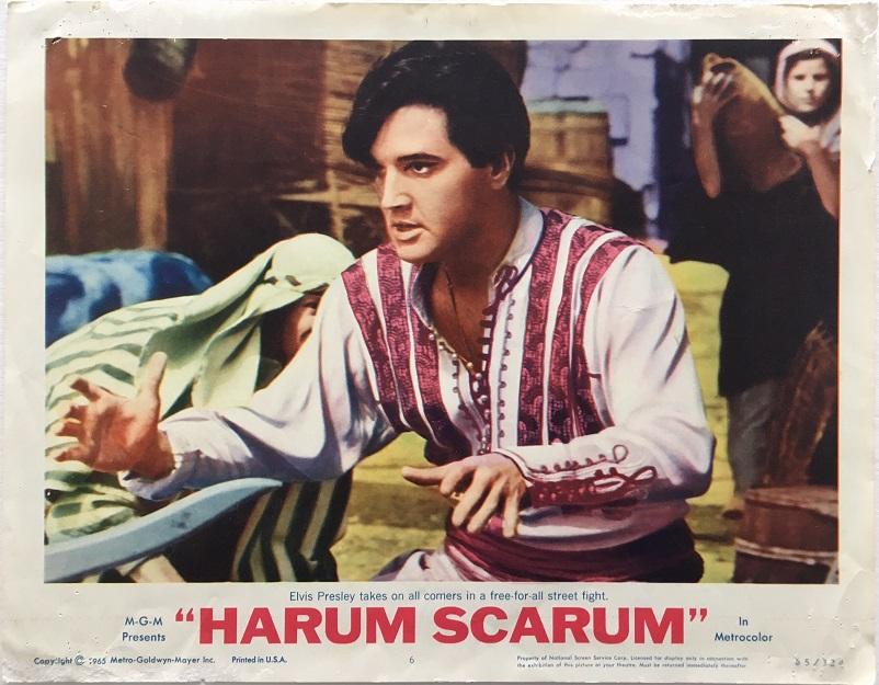 harum scarum elvis presley lobby card 1965 6
