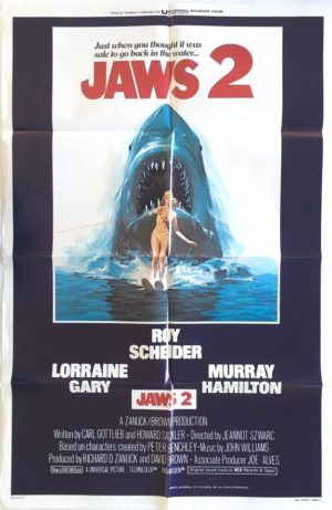 jaws 2 us one sheet movie poster (1)