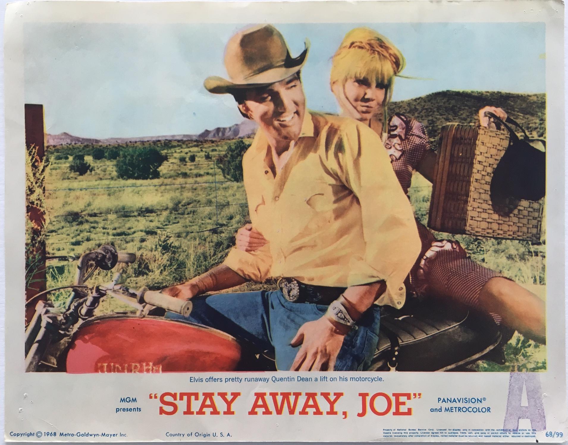 stay away joe elvis presley lobby card 1968 (7)