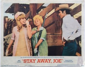 stay away joe elvis presley lobby card 1968 (4)