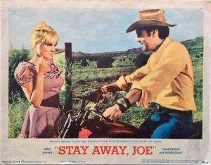 stay away joe elvis presley lobby card 1968 (2)