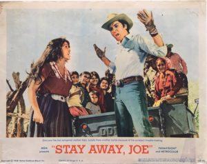 stay away joe elvis presley lobby card 1968 (1)