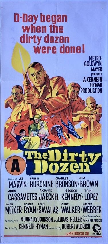 the dirty dozen australian daybill poster