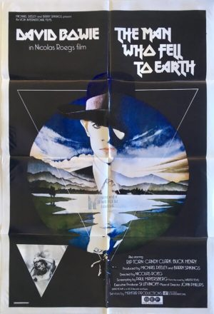 the man who fell to earth david bowie australian one sheet movie poster