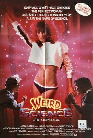 weird science uk one sheet movie poster 1985 (6) Kelly LeBrock