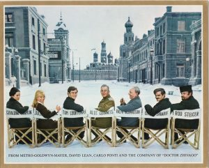 Dr Zhivago MGM christmas card (1)
