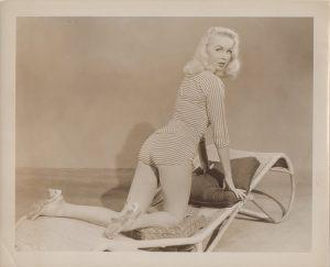 Joi Lansing 1950's publicity portrait