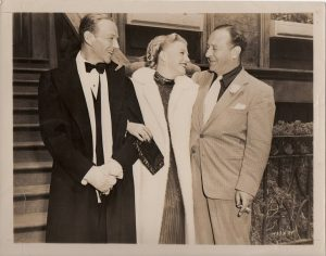 barkleys of broadway 1949 publicity still featring fred astaire ginger rogers and producer arthur freed (1)