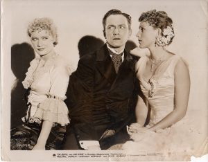 dr jekyll and mr hyde 1931 publicty still with fredric march miriam hopkins and rose hobart