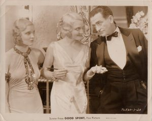 good sport 1931 publicity still featuring Greta Nissen Linda Watkins and John Boles