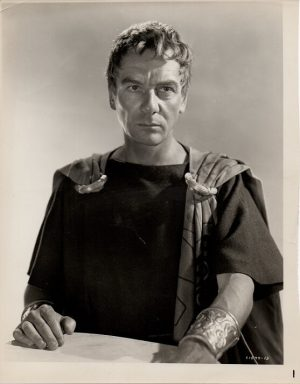 julius ceasar 1953 publicty portrait of sir john gielgud (2)