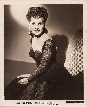 maureen o'hara original 1940's publicity portrait