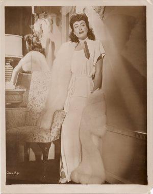 joan crawford 1940's publicity portrait