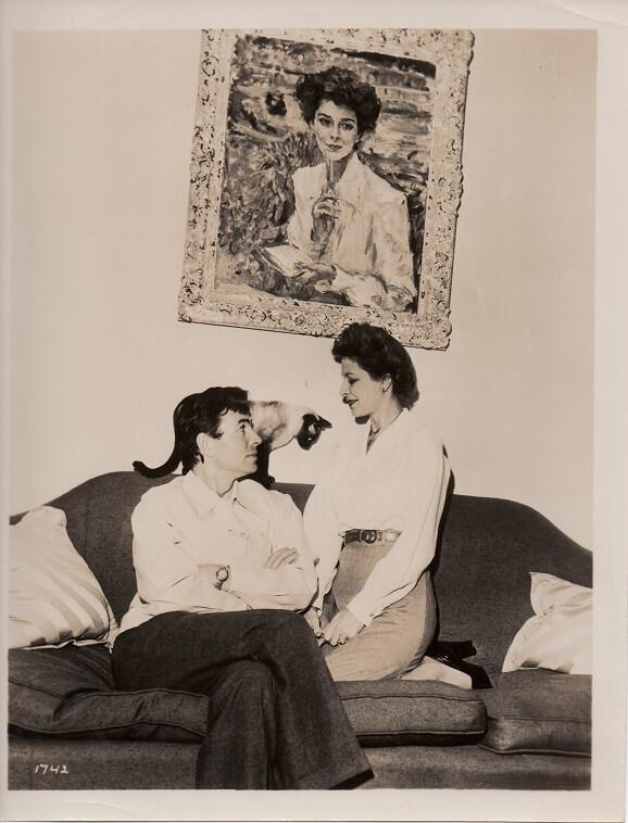james mason and wife Pamela Mason publicity still 1949