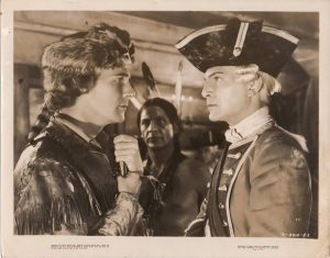 last of the mohicans publicity still 1936 featuring Randolph Scott and Henry Wilcoxon