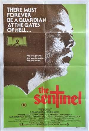 the sentinel 1977 australian one sheet movie poster