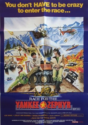 Race for the Yankee Zephyr 1981 new zealand one sheet poster