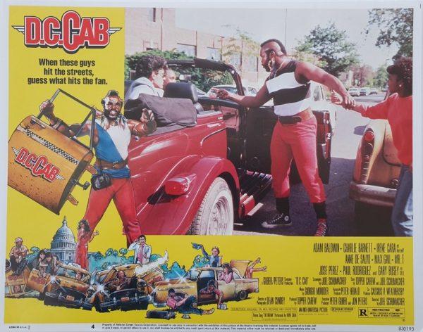 D.C.Cabs US lobby card 4