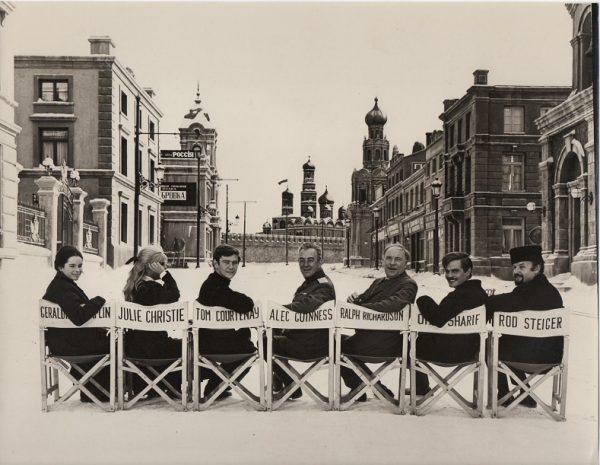 Doctor Zhivago Christmas card publicity still 8 x 10 David Lean