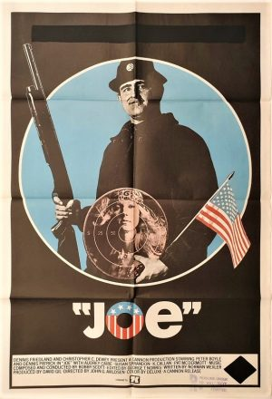 Joe australian 1970 one sheet movie poster