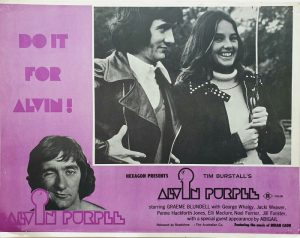 alvin purple australian lobby card