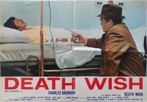 death wish italian Photobusta poster with charles bronson 1974
