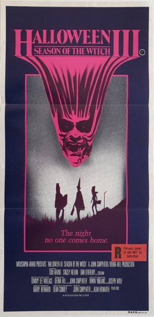 halloween 3 the season of the witch daybill poster