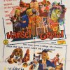 hansel and gretel australian one sheet poster 1960's german production