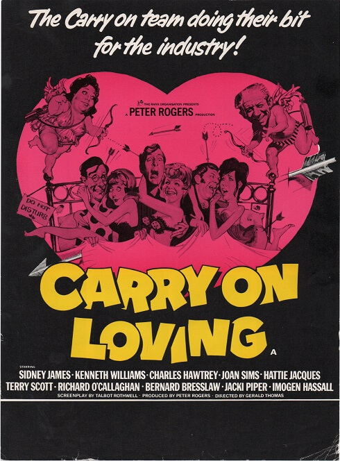 carry on loving 1970 UK info sheet