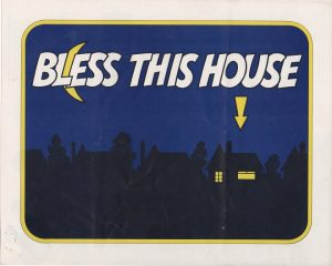 Bless this house UK info sheet 1971