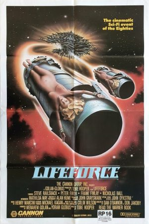 lifeforce us one sheet international movie poster 1985