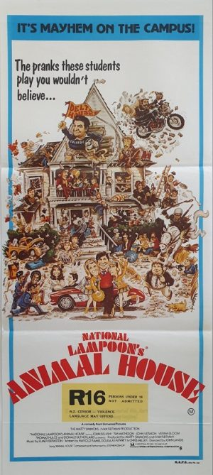 national lampoons animal house australian daybill poster