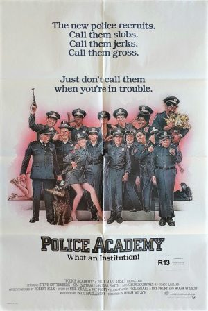 police academy us one sheet movie poster 1