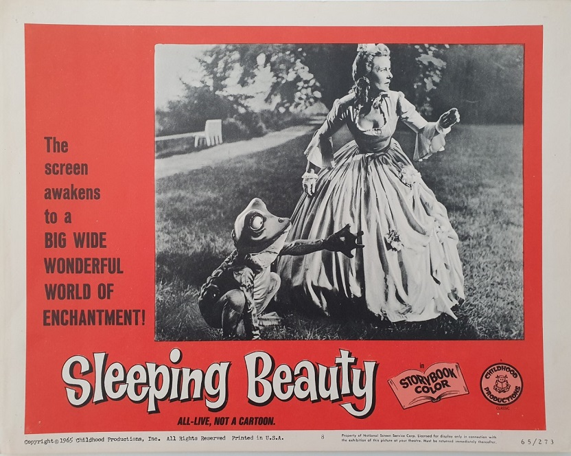 sleeping beauty US lobby card 1965 live action movie