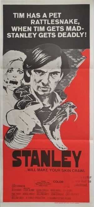 stanley australian daybill poster
