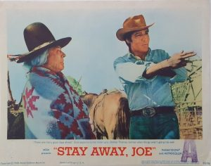 stay away joe us lobby card elvis presley