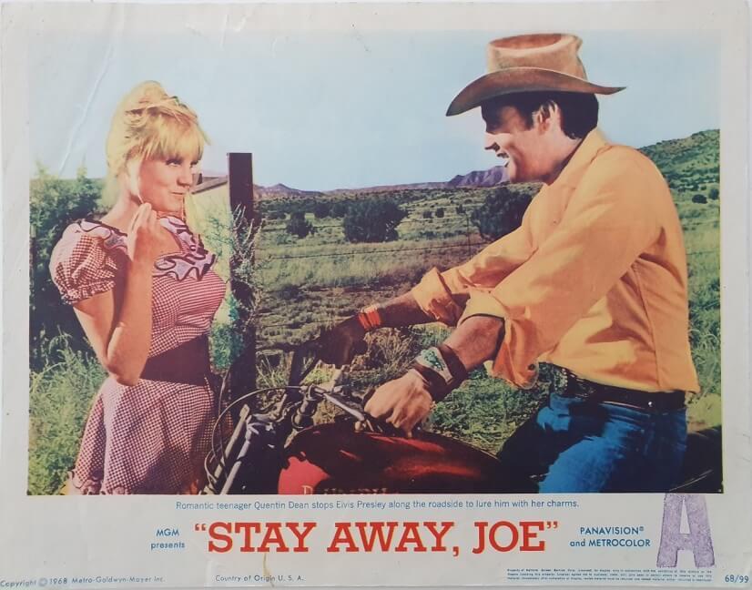 stay away joe us lobby card elvis presley