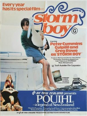 storm boy and pouihi double bill new zealand movie poster