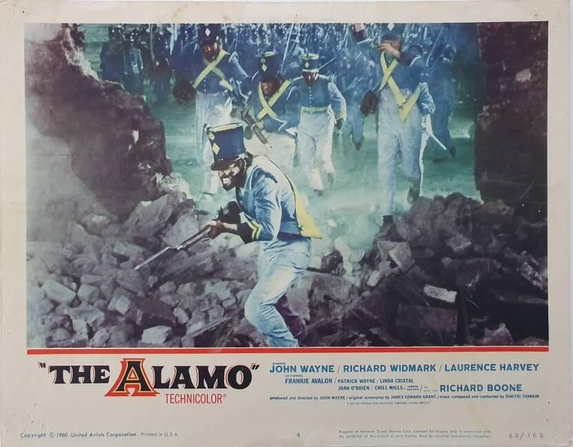 the alamo us lobby card 4