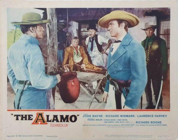 the alamo us lobby card 5