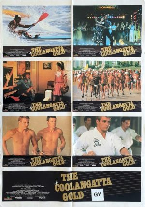 the coolangatta gold australian lobby card one sheet poster 1984