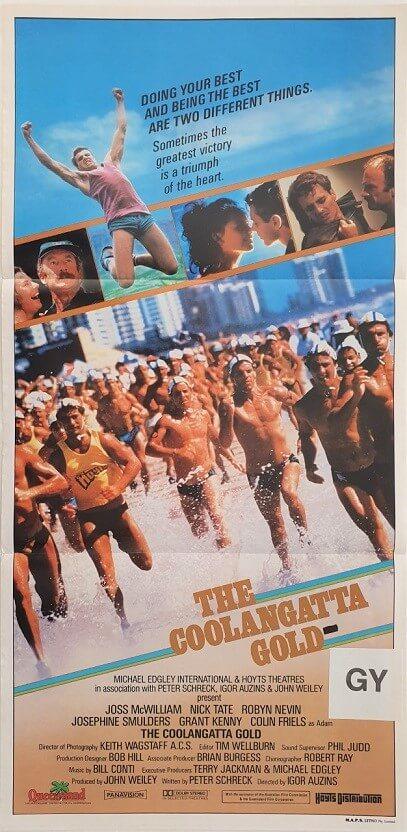 the coolangatta gold daybill poster 1984
