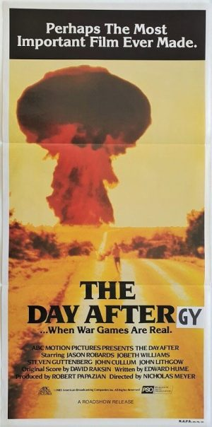 the day after daybill poster 1984