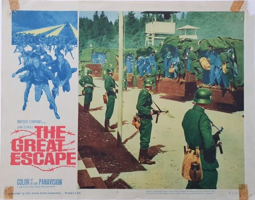 the great escape US lobby card 3