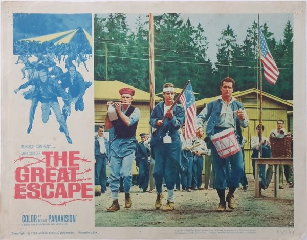 the great escape US lobby card 7