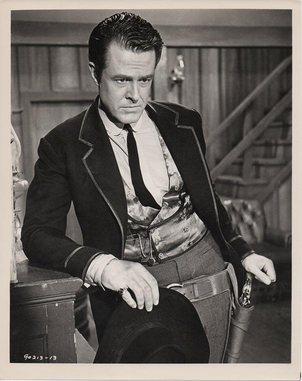 the raiders 1963 western publicity still of Robert Culp (1)