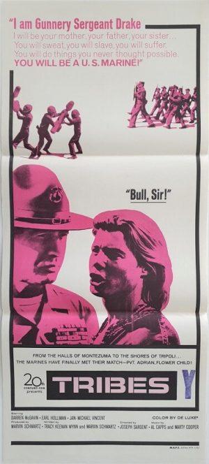 tribes australian daybill poster 1970