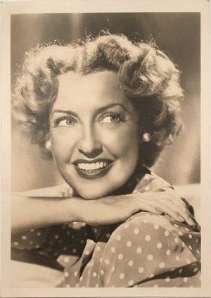 Jeanette MacDonald portrait 1940s 6