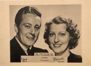 Jeanette MacDonald and Gene Raymond publicity portrait 1940s 2
